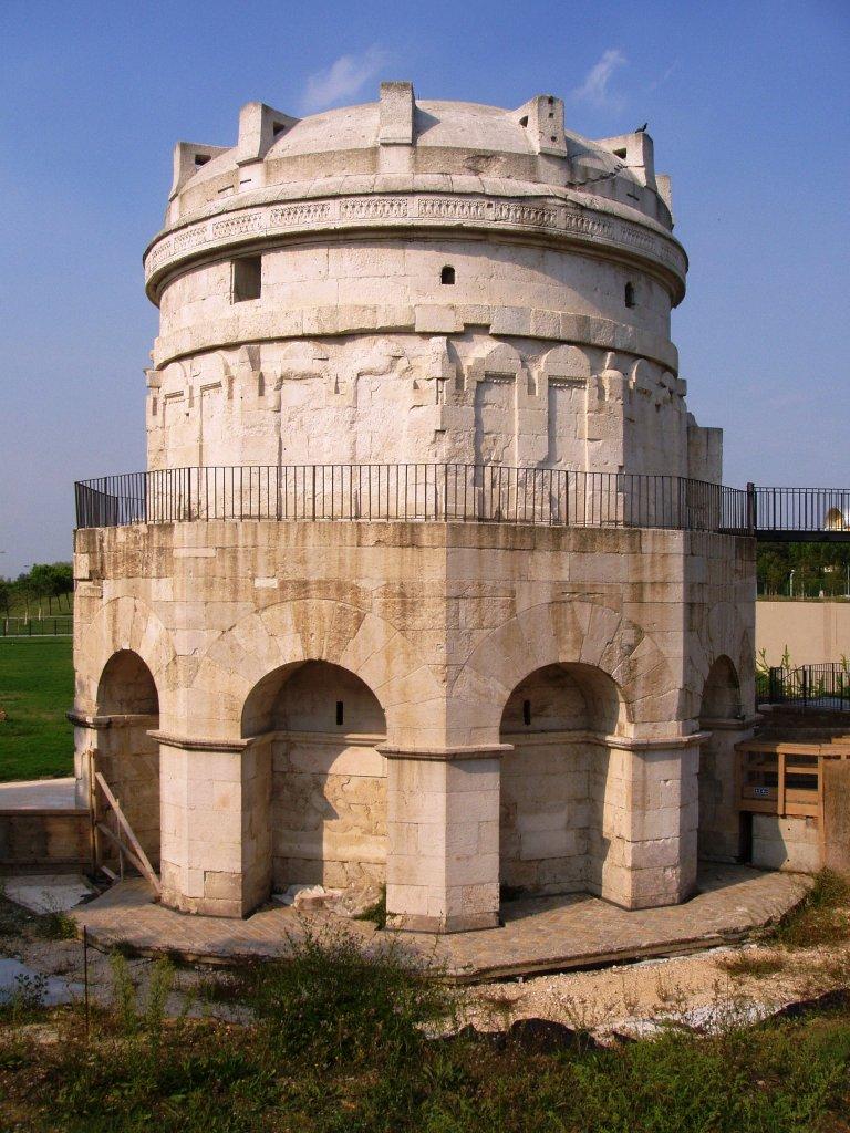 Mausoleo de Teodorico en Rávena