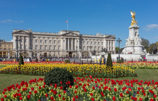 Buckingham Palace, cuan bonito se TV
