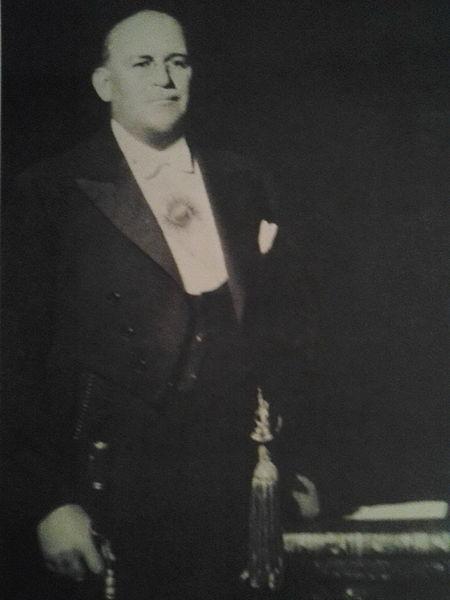 Agustín Pedro Justo, un 11 de enero de 1943