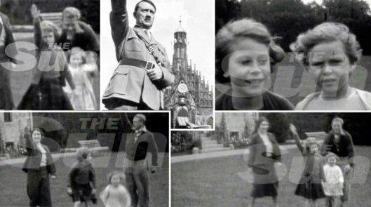 con polleritas te voy a remplazar, mi padre muerto en 1952 era nazi y yo la Reina luciferista del último imperio mundial y hete aquí 64 años después del comienzo